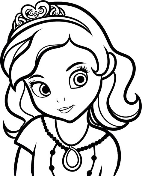 Sofia The First Coloring Pages Color In Images