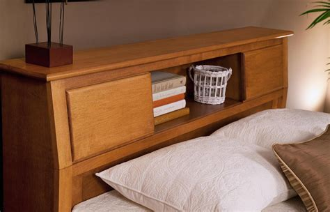 Bookcase Bed Queen Oak Creek Queen Bookcase Headboard