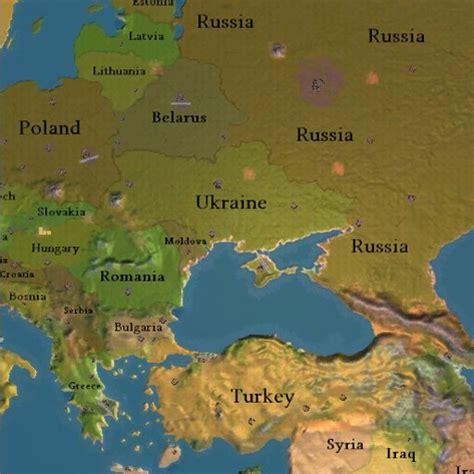 map of europe ukraine russia eastern europe ukraine map for sid meier s railroads
