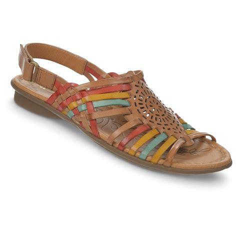 naturalizer womens wendy leather sandals  sandals flip flops  sportsmans guide