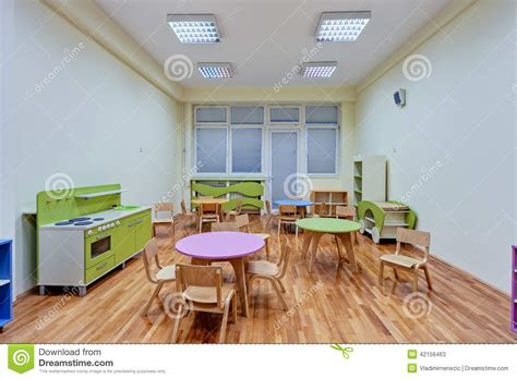 The Three Ages Of The Interior by A Preschool Interior Stock Photo Image 42156463