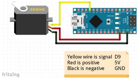 arduino servo motor wiring diagram 34 wiring diagram