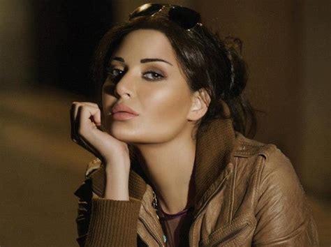 most beautiful actress in dubai lebanese models and actress cyrine abdelnour pinterest