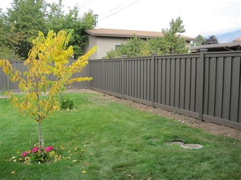 fence backyard cost 102 best images about wpc outdoor fence on pinterest
