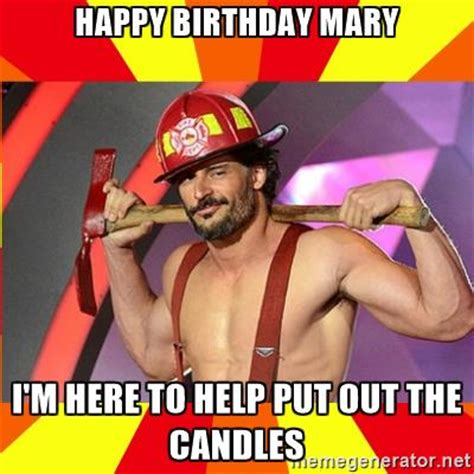Sexy Birthday Meme - happy birthday mary images wishes cake images memes