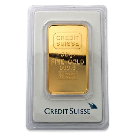 Credit Suisse Formula 1 Credit Suisse 50 Gram Gold Bar Credit Suisse Gold Bullion