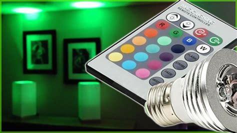 led lights different colors led lights magic lighting led light bulb controlled w