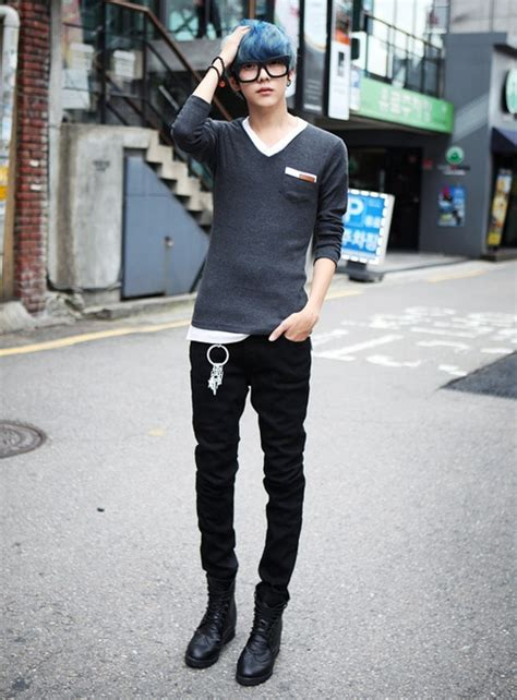 Toko Fashion Korean Style Black Blazer 65 ulzzang boy fashion style