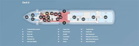 Deckplan Prima by Aidaprima Deck 6 169 Aida Cruises