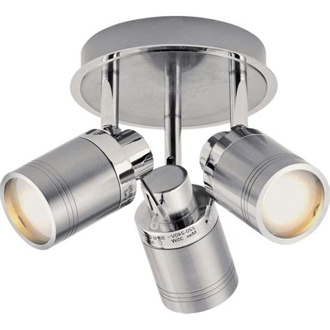argos bathroom wall lights buy collection livorno 3 light bathroom spotlight chrome at argos co uk your