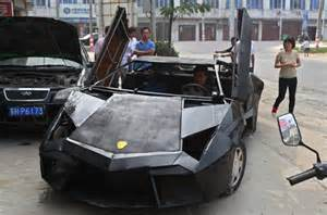 Build Lamborghini Mechanic Builds Lamborghini Replica For 9 500
