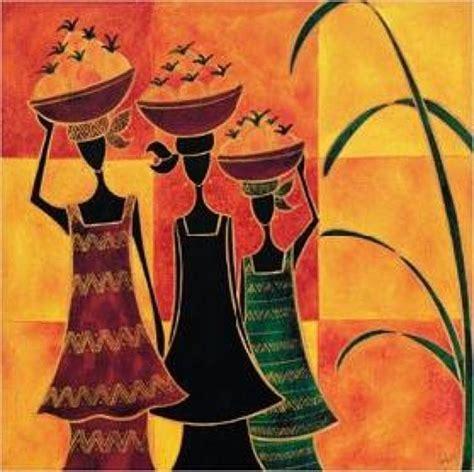 imagenes cuadros negras africanas pinturas africanas imagui