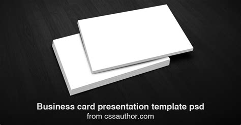 business card presentation template psd free business card presentation templates psd