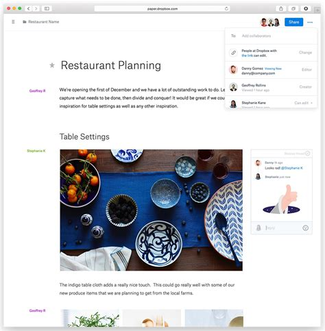 dropbox paper review dropbox announces paper a google docs competitor techcrunch