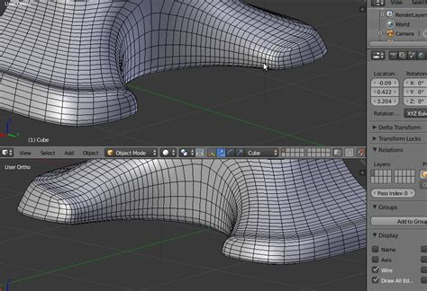 blender tutorial submarine subdivision surface cant get the sub surf right blender