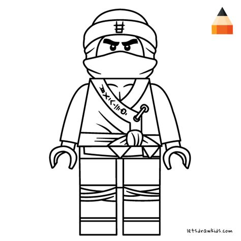 coloring pages lego ninjago movie how to draw lego cole step by step from the lego ninjago movie