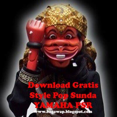 gratis style pop sunda abjad  yamaha psr series