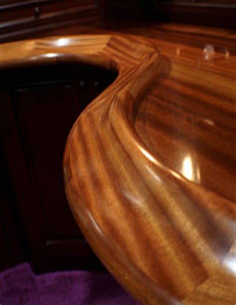 Custom Bar Table Tops Learn About The History Of Grothouse Solid Wood Surfaces