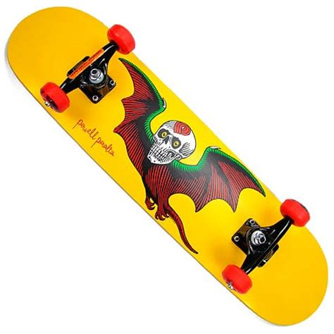 The Skull Bat Skateboard Intl powell peralta bat skull complete skateboard in stock at