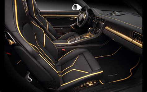 porsche cars interior topcar stinger gtr based on porsche 911 2