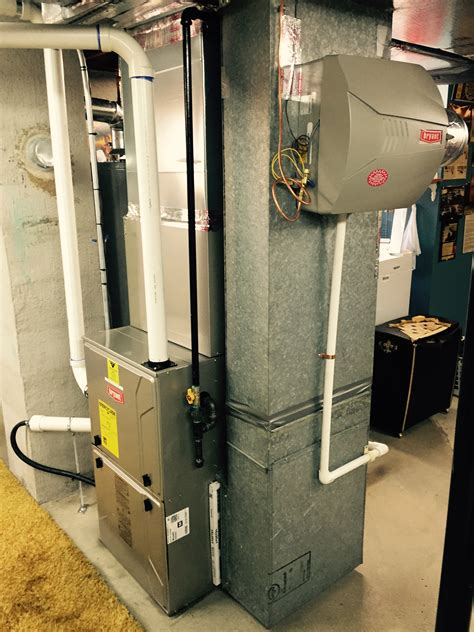 Evolution Plumbing And Heating by Bryant Evolution Furnace And Ac System With Humidifier