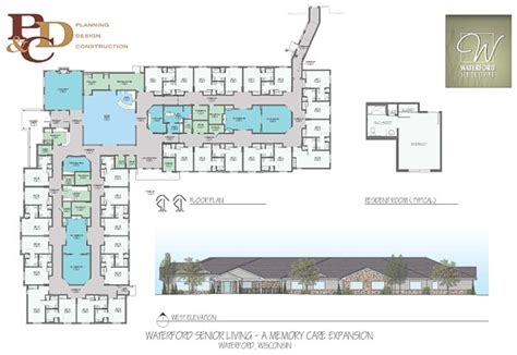 senior living floor plans waterford senior living memory care facility in waterford