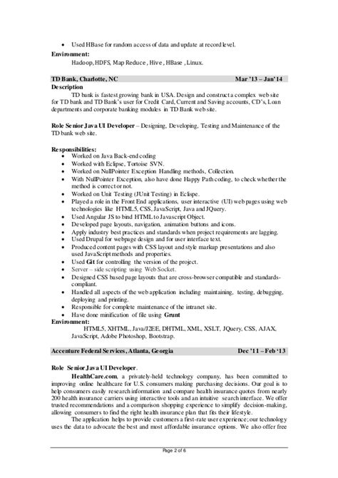 Hadoop Developer Resume by Hadoop Developer Resume Suiteblounge