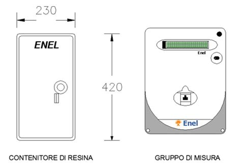 cassetto bidirezionale quadri elettrici quadro enel dwg contatore enel