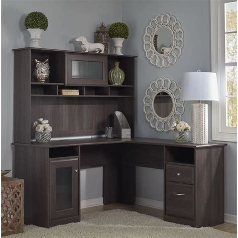 cabot l shaped desk with hutch cabot l shaped desk with hutch free shipping today