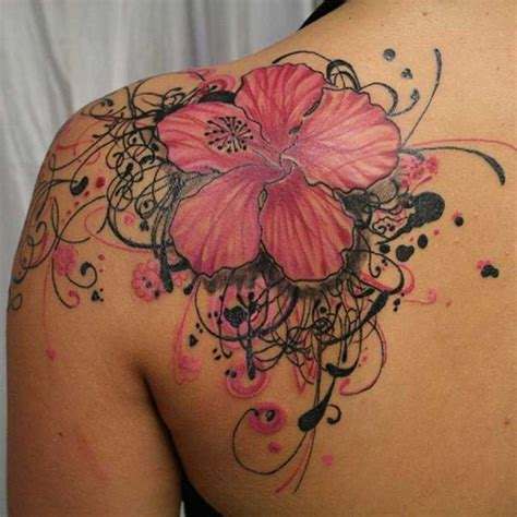 flower tattoos designs and meanings hawaiian flower tattoos meaning pictures reference