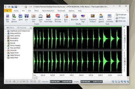 free editor free audio editor