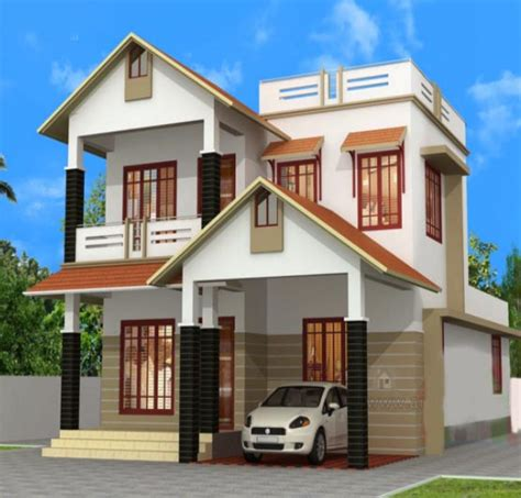 two home designs house design of two floor three bedrooms and 172 square