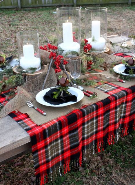 Winter Dining Room Table Decoration Ideas Winter Tablescape