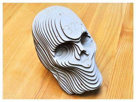 Laser Cutting Archives Ponoko Ponoko Laser Cut Skull Template