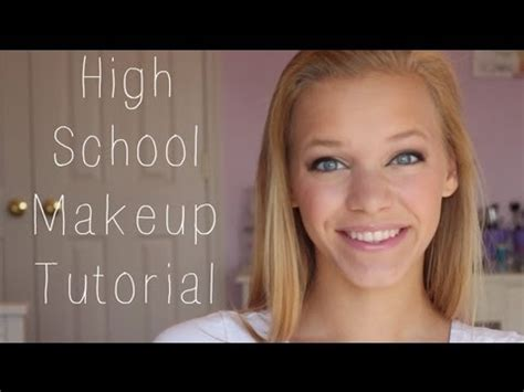natural everyday makeup tutorial for school high school makeup tutorial youtube