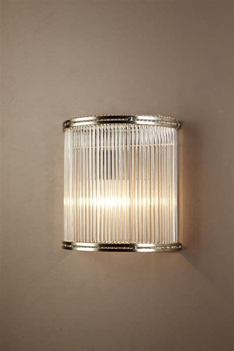 Beach House Chandelier Verre Half Round Glass Wall Lamp Emac Amp Lawton