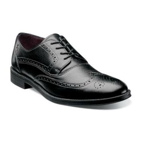 oxford shoes and dresses callahan black tumble wingtip oxford leather