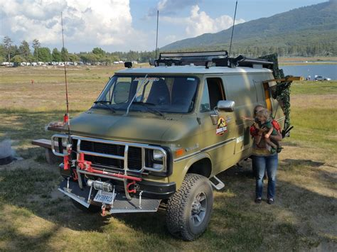 offroad 4x4 for sale bangshift this solid axle 4x4 1985 chevy van is the