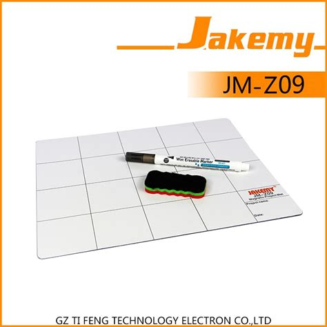 Jakemy Magnetic Mat Pad With Erasable Marking Pen Brush Jm Z09 jakemy magnetic work mat pad with erasable marking pen brush jm z09 jakartanotebook