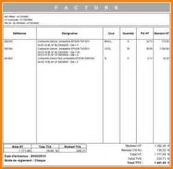 Exemple De Lettre Facture 7 Exemple Facture D Acompte Lettre Officielle