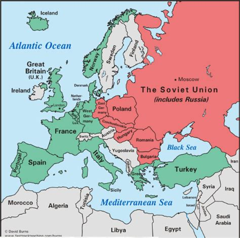 russia map after ww2 the devastation of europe and japan a second world war