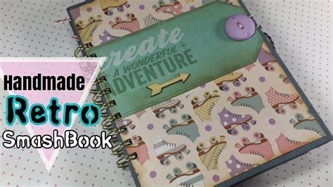 Handmade Books For Sale - retro smashbook handmade memory book for sale i m a