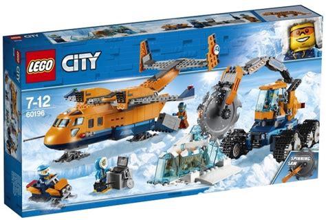 Lego City Helicopter And Robert lego 60196 supply aircraft erste set bilder der city