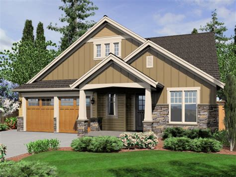 brick craftsman style house plans craftsman home house