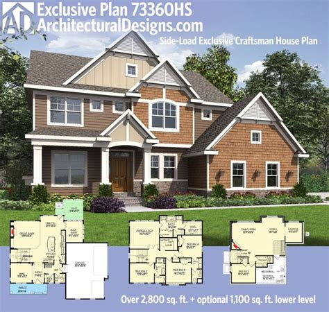 Side Garage House Plans by Plan 73360hs Exclusive Storybook Craftsman House Plan