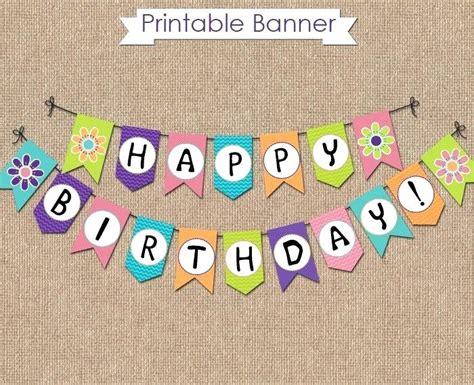 Diy Birthday Banner Diy Birthday Banner Template Partymilk Club Diy Birthday Banner Template