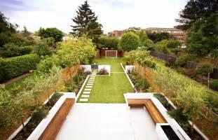Long Thin Garden Design Family Garden Design Designing A Garden