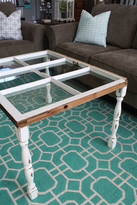 window coffee table diy diy simple window coffee table