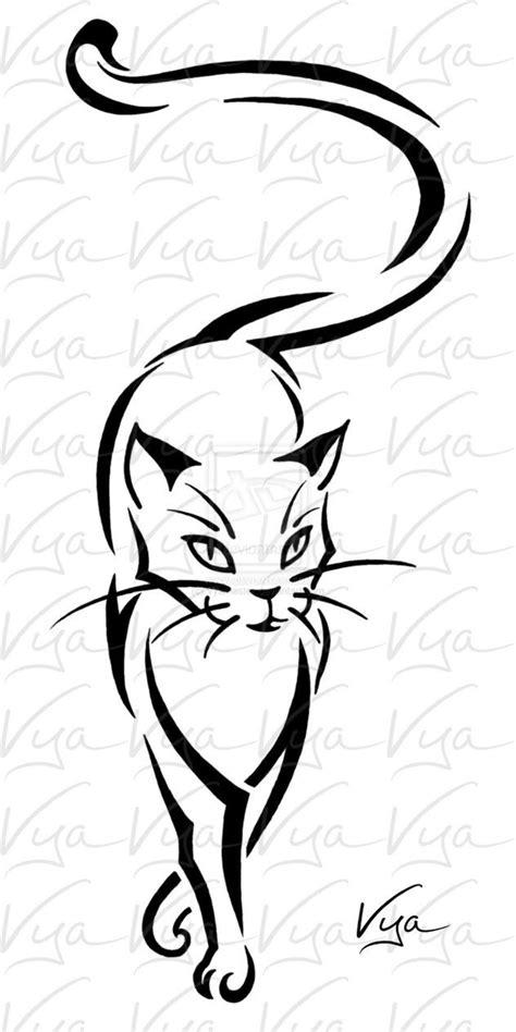pattern cat tattoo 221 best cat tattoo images on pinterest kitty tattoos