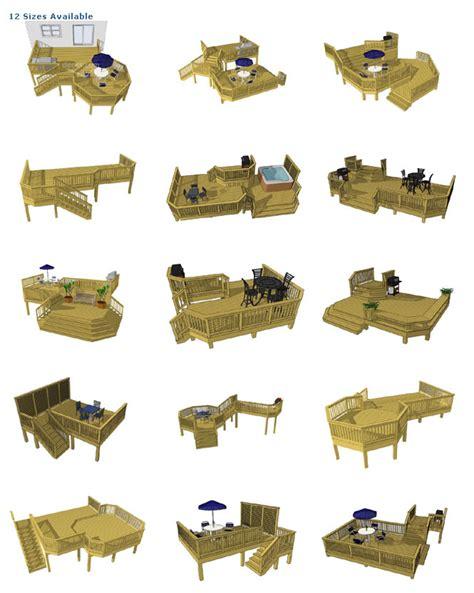 deck plans com wooden deck building plans house plans home designs